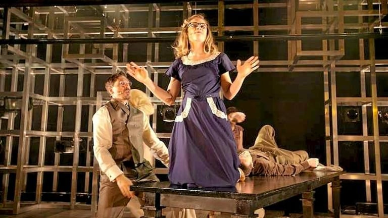 Heat and light: <i>Atomic</i> is a sprawling biographical musical focused on Hungarian physicist Leo Szilard.