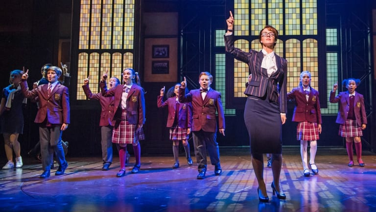 A scene from School Of Rock at New London Theatre.