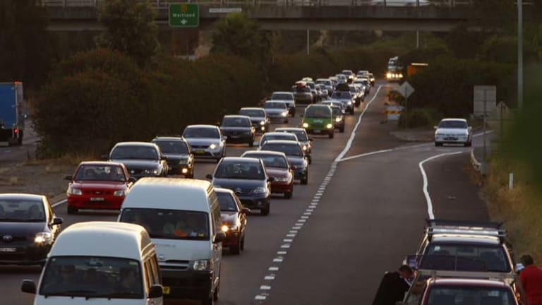 Stalling ... both the state and federal governments are divided over how much each should spend on funding the Pacific Highway upgrade.