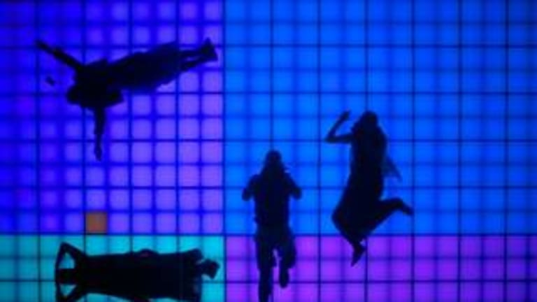 Darren Sylvester's <i>For You</i> is an illuminated dance floor.