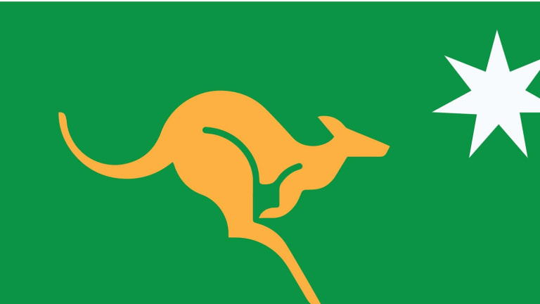 The world equates the kangaroo with Australia and the kangaroo is beautifully dashing.