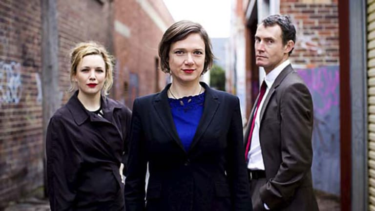 Meredith Penman, Fiona Macleod and Dion Mills.