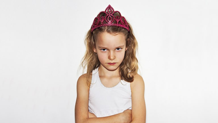 First impressions … commenting immediately on their appearance tells girls that looks are more important than anything.