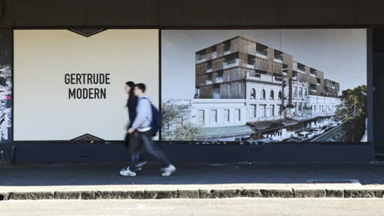 Ash Keating, in collaboration with Dorian Farr and David Campbell, created <i>Gertrude Modern</i>.