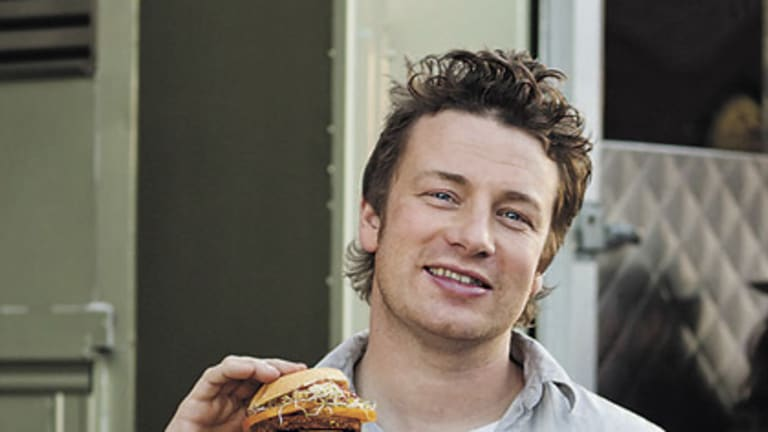 Here to help ... Jamie Oliver aiming to teach Australians how to cook healthy meals.