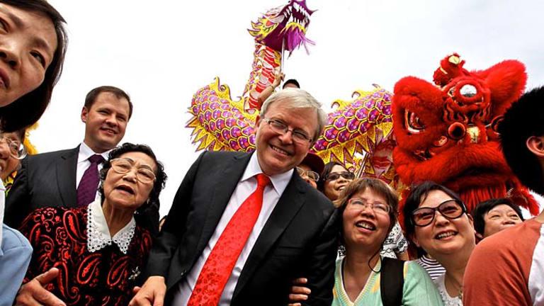 Popular: Kevin Rudd.