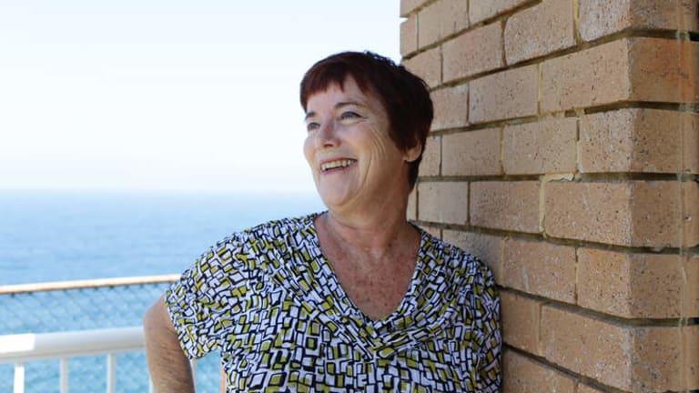 Elizabeth Wynhausen, author, at her home in Bondi, 2011. Photo: Jacky Ghossein