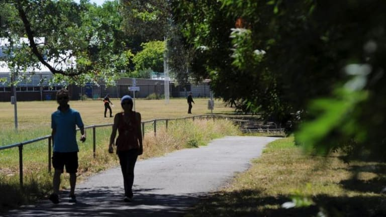 Play on: A new  sports pavilion will be built on Lyneham Neighbourhood Oval.