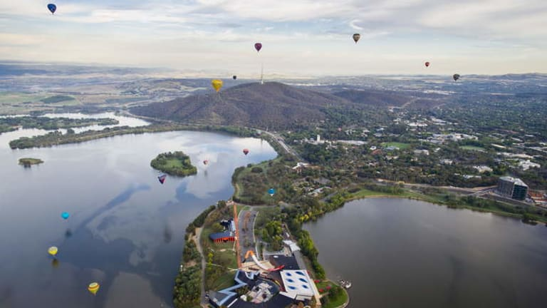 The 2013 Canberra Balloon Spectacular.