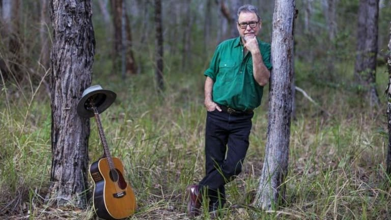 John 'Willo' Williamson has reluctantly accepted the mantle of Australia's premier folk singer.