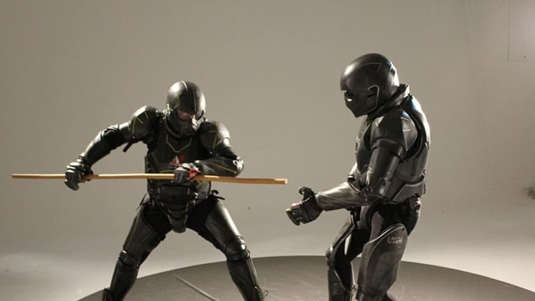 """""""Creating an entirely new sport:"""" The Lorica suit."""