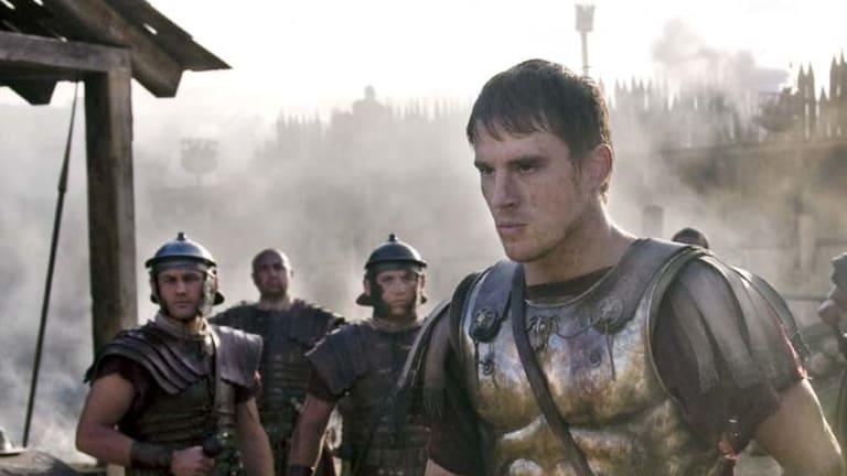 Facing the barbarians ... Channing Tatum stars as a Roman legionnaire in <em>The Eagle</em>.