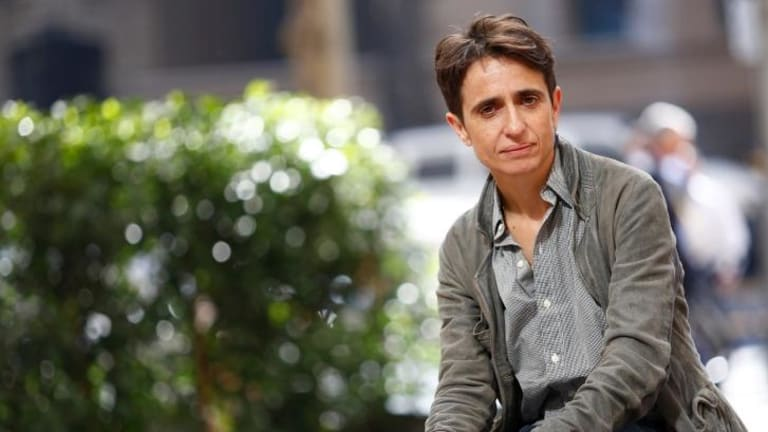 Living dangerously: Masha Gessen is a gay activist and critic of Putin.