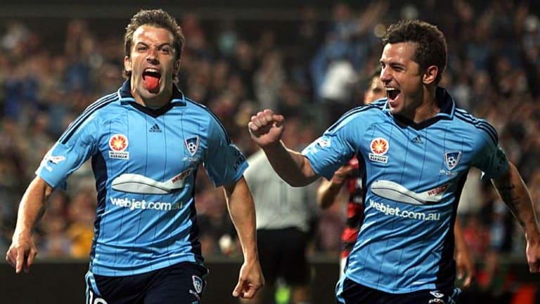 Class ...  Alessandro Del Piero scores for Sydney FC.