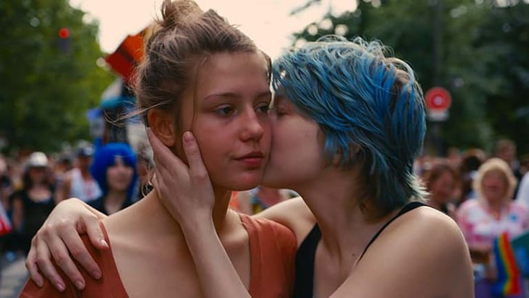 A still from Blue is the Warmest Colour.