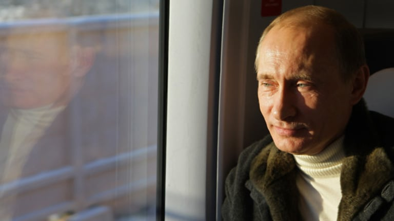 Russian leader Vladimir Putin has transformed his country in the past 10 years.