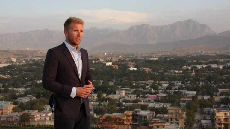 Accomplished ... Hamish Macdonald is leaving Channel Ten to join US network ABC as an international affairs correspondent based in London.