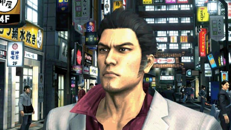 Permanently grouchy ... Kazuma, the main character from Yakuza 3.