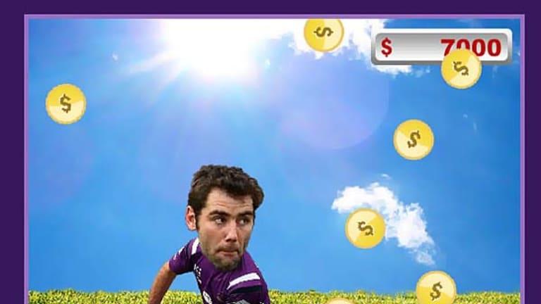 Melbourne Storm salary cap game.