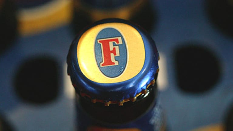 Fined ... Foster's.
