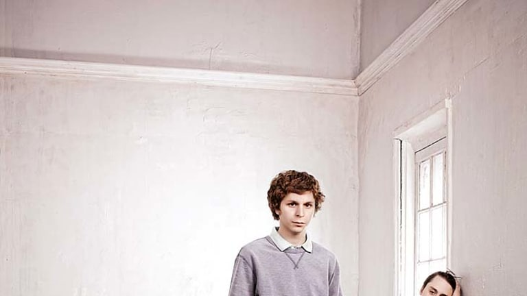 Hooked on <i>Youth</i>...Keiran Culkin (at right) , with Emily Barclay and Michael Cera, is obsessed with the play.