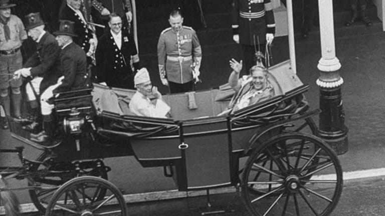 Queen Salote of Tonga on Coronation Day 1953.