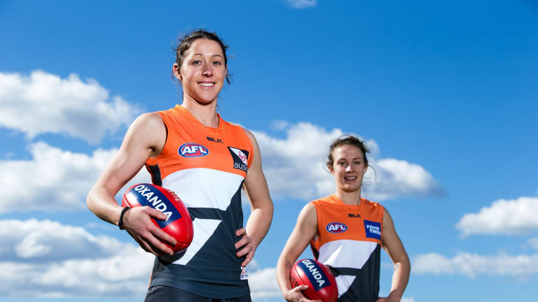 New Giants: Renee Forth and Emma Swanson.