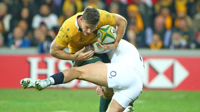 Rob Horne has played 33 Tests for the Wallabies.