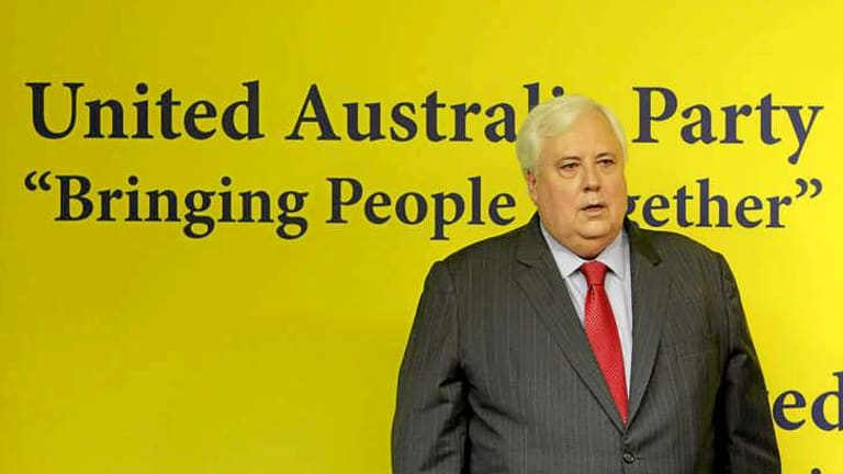 Clive Palmer:'They don't think about what it means to live in this country.'