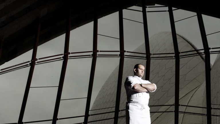Guillaume Brahimi, head chef of restaurant <em> Guillaume at Bennelong. </em>