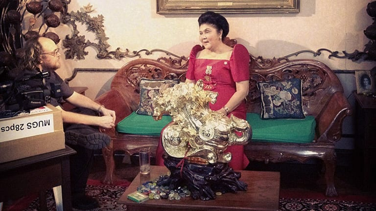 An audience with Imelda Marcos.