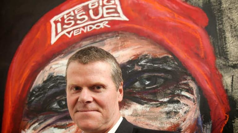 Steven Persson, chief executive of <i>The Big Issue</i>.