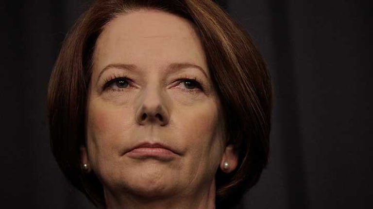 """Julia Gillard ... """"a captive of the unionists who delivered her job."""""""