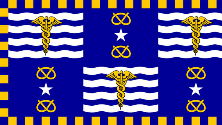 The rarely seen flag of Brisbane.