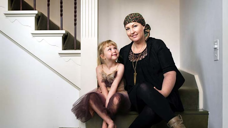 Breast cancer patient Rachel West, pictured with her daughter Sienna, is facing more limited treatment options because of a shortage of the drug Doxil.