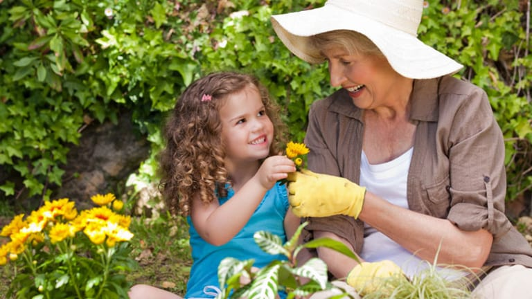 Almost a million Aussie kids are looked after by their grandparents.