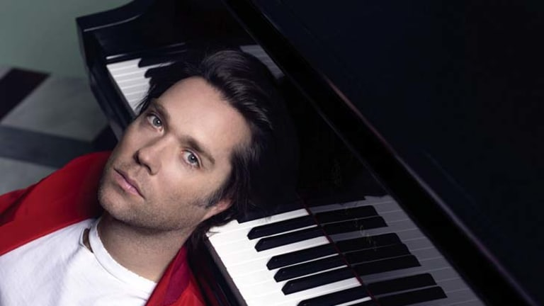 Rufus Wainwright ... out of his comfort zone.