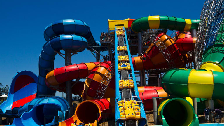 Low visitor numbers at Village Roadshow owned theme parks has hurt the company's bottom line.