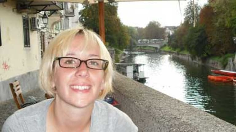 Britt Lapthorne, in a photo from a Facebook search page set up to track her down.