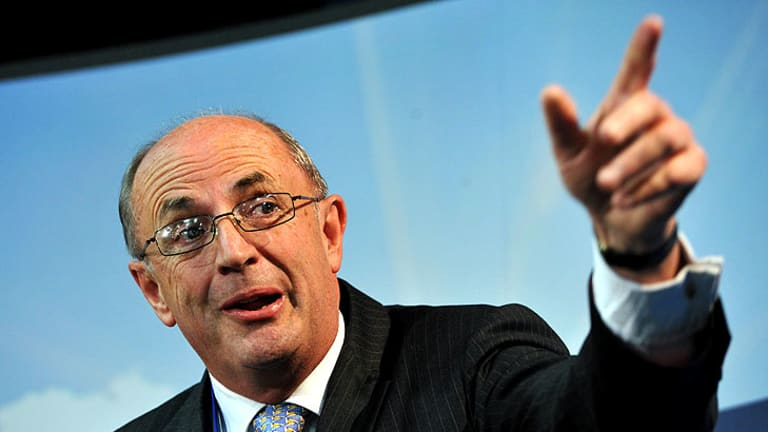 Peter Reith, pictured at last weekend's Liberal Party Federal Council meeting, has urged the Coalition to make labour laws a major campaign issue.