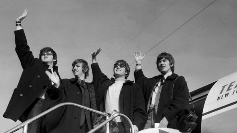 The Beatles leave Sydney for New Zealand on  June 21, 1964.