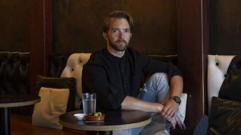 Actor and singer Tim Draxl has a soft spot for the desserts at Bloodwood in Newtown.