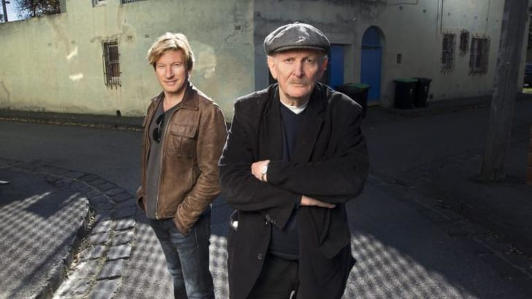Heading for opening night at the Melbourne International Film Festival: <i>Force of Destiny</i> star David Wenham with director Paul Cox.