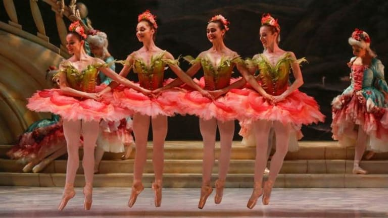 Design taken to excess ... the Australian Ballet's new production.