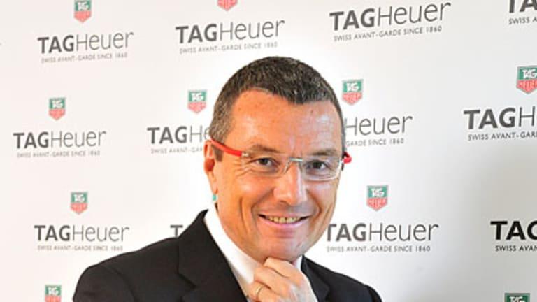 Tag Heuer chief executive Jean Christophe Babin.