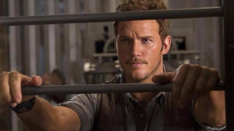 Chris Pratt stars in <i>Jurassic World</i>.