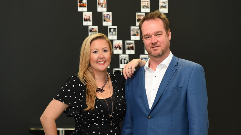 Uniti wireless co-founder Che Metcalfe, pictured with co-founder Sasha Baranikov, says expansion into Sydney, Perth and Brisbane will come before an IPO later this year.