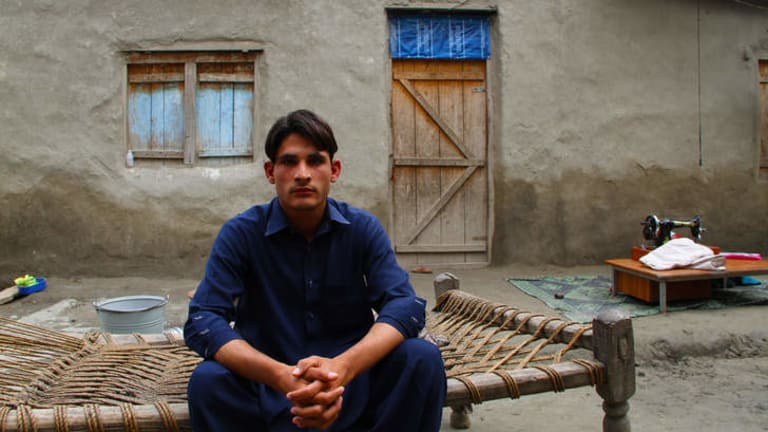 Eighteen-year-old Zahir Ullah has never seen Afghanistan, the country of which he is a citizen. He has lived his whole life as a refugee in the Khazana Camp in Peshawar, Khyber Pakhtunkhwa, Pakistan.