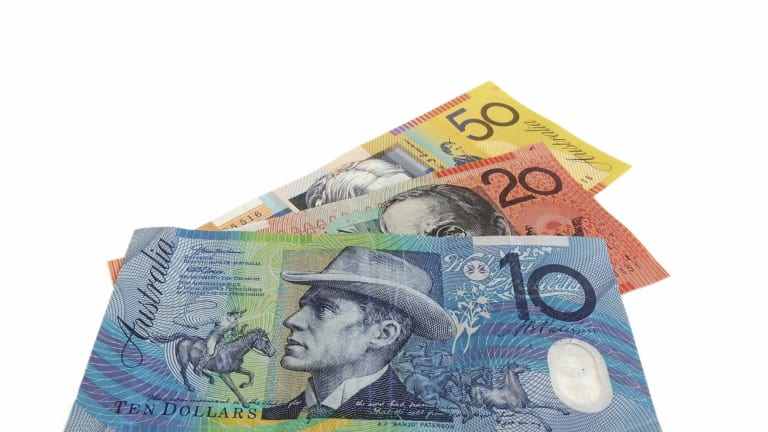 The polymer bank notes designed by CSIRO.