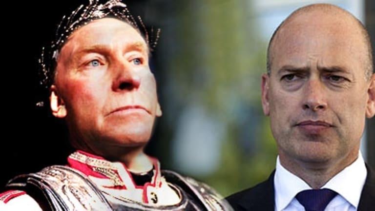 Premier Colin Barnett and ex-transport minister Dean Nalder.
